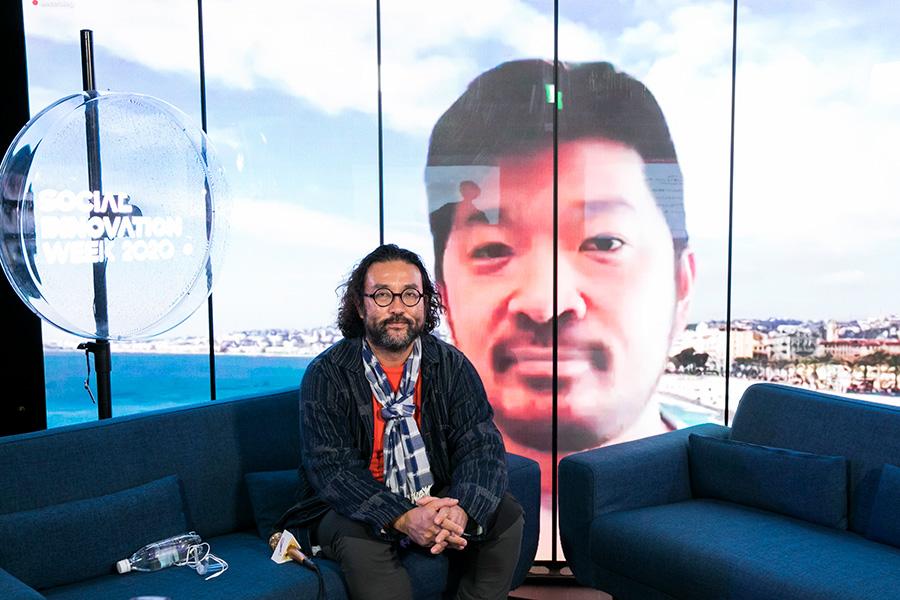 20A8400 インスピレーションを与える食、そして料理人の役割——松嶋啓介/古田秘馬