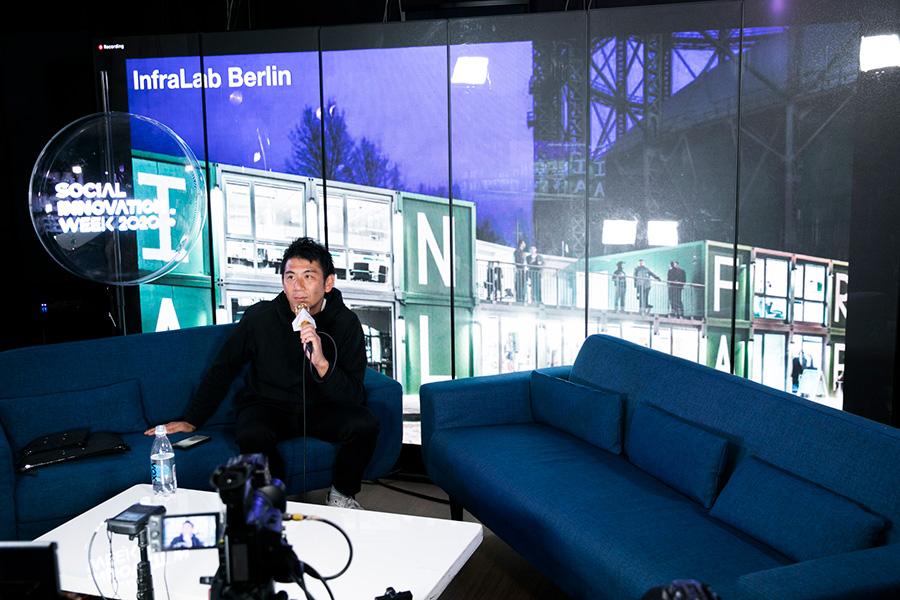 20A8621 ベルリンに誕生する異文化交流施設「NION」とつくるシブヤの未来——筑紫Bordini遼太郎/金山淳吾