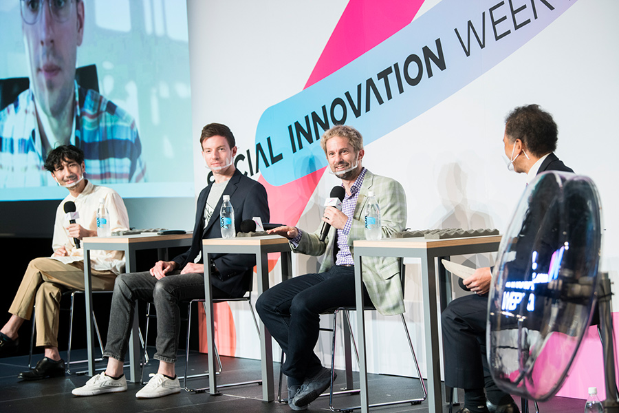 SAI1372 オープンかつ多様であることがスタートアップに必要なイノベーションを起こす——石井芳明/Justin Waldron/Jonathan Siegel/Daniel Heffernan/田坂克郎