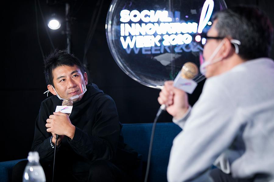 """20A8850 メディアやデバイスが変わっても、探求するのは""""ワンポイントのときめき""""——小松純也/金山淳吾"""